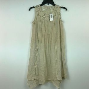 Dresses & Skirts - Style&Co Women Petite Size PP LT Tan Dress 8BG69